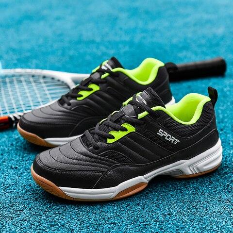 Tênis de Badminton Voleibol para Homens Profissional Mulheres Crianças Tribunal Atletismo Treinamento Esporte Tênis Jogging Sapatos Apoio