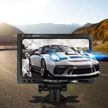12 V-24 V 7 дюймов TFT lcd цветной HD монитор для автомобиля CCTV камера заднего вида