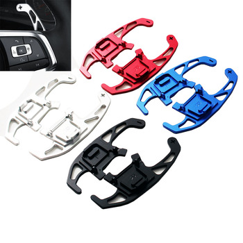 2pcs Car Steering Wheel Shift Paddle Shifter Extended  For VW GOLF GTI R GTD GTE MK7 7 POLO GTI Scirocco 2014 2015 -2019 2020 1