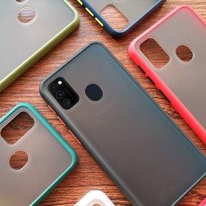 Матовый Силиконовый противоударный бампер чехол для телефона для samsung Galaxy Note 10 Pro 9 8 S10 S9 S8 плюс A51 A71 J4 J6 J8 A9 A7 2018 крышка