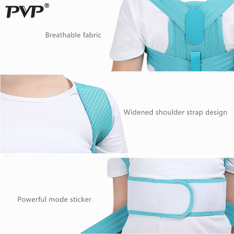 Adjustable Children Posture Corrector Belt with Detachable Shoulder Pad to Develop Good Walking and Sitting Posture 2