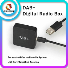 354 DAB + Box Digitale Radio Tuner Antenne Amplified Antenne Adapter für Auto Stereo Autoradio Android 8.1/9.0/10,0