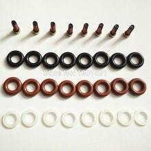8 компл. Топливный инжектор Ремонтный комплект фильтры orings крышки для Mercedes g500 двигатель m113 112 0280156153 0280155744 0280156014