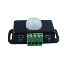 цена на Automatic Adjustable PIR Motion Sensor Switch DC 12V 24V 8A IR Infrared Detector Light Switch Module for LED Strip Light Lamp