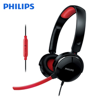 Original Philips SHG7210 E sports Headphones with Microphone Wire Control Game Headphones for Xiaomi Official Verification