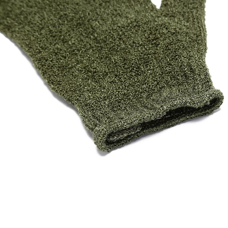 Shower Gloves Exfoliating Wash Skin Spa Bath Gloves Foam Bath Skid Resistance Body Massage Cleaning Loofah Scrubber