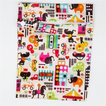 20*25cm Mini Diaper Wet Bag Single Pocket Zipper Baby Bags For Mom Maternity Travel Stroller Bag PUL Nappy Diaper Bag Wetbag - N14