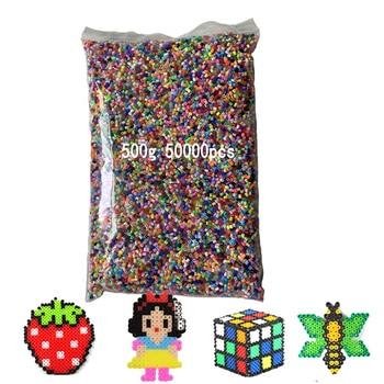 500g 2,6mm Mini hama cuentas otros niños de cuentas para los niños Hama cuentas 3d rompecabezas juguetes de regalo hecho a mano Juguetes