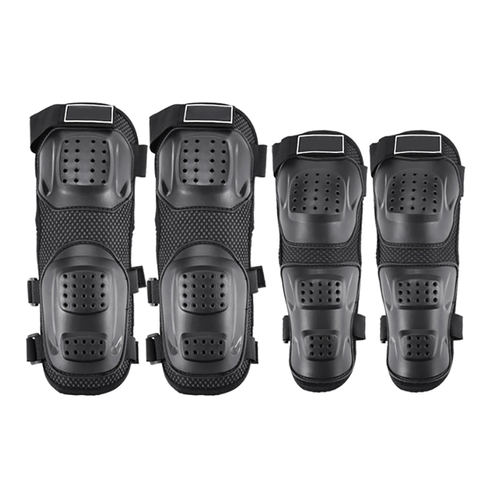 4Pcs/set Motorcycle Elbow Protector Knee Pads Safety Protective Gear Moto Accessories Kneepad Protection 2019 NEW