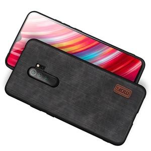 Image 4 - Чехол MOFi для Redmi note 8 Pro, чехол для Xiaomi Mi note8 8Pro, задний корпус из денима, ковбойский узор, ударопрочный противоударный чехол из тпу