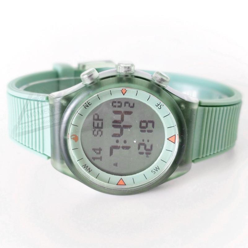 Muslim Kids  Azan Time Prayer Watch with Qibla 32mm 3 Bar Waterproof Islamic Adhan Wrist Clock