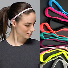 Camwin 5 Pc Elastic Headband Softball Anti-slip Silicone Rubber Hair Head Bands Hairbands Headbands Accessories 2021 New