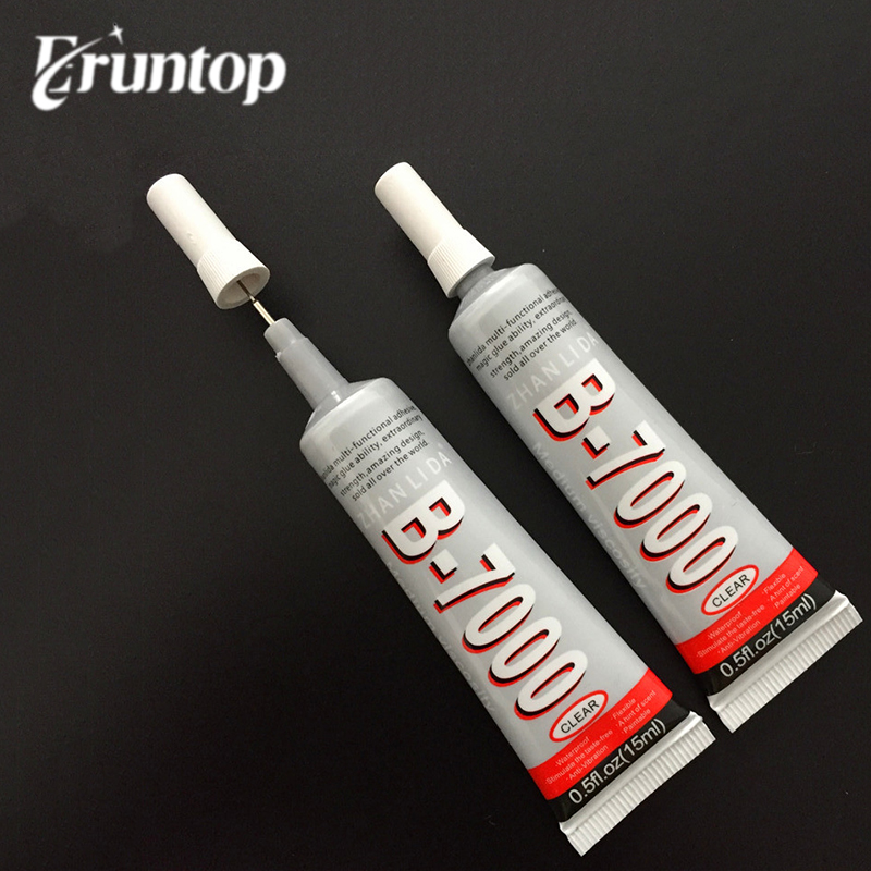 2PCS B-7000 Industrial Strength Glue Adhesive 15ml 0.5fl.oz For Jewelry Nails Glass