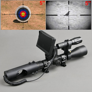 Image 2 - Night Vision Riflescope Hunting Scopes Optics Sight Tactical 850nm Infrared LED IR Waterproof Night Vision Hunting Camera