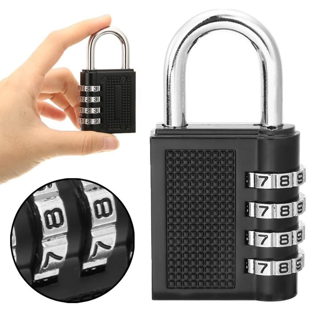 Кодовый замок из цинкового сплава, 4 цифры, пароль, замок, чемодан, безопасность, кодовый замок, пароль, висячий кодовый замок, уличная безопа...