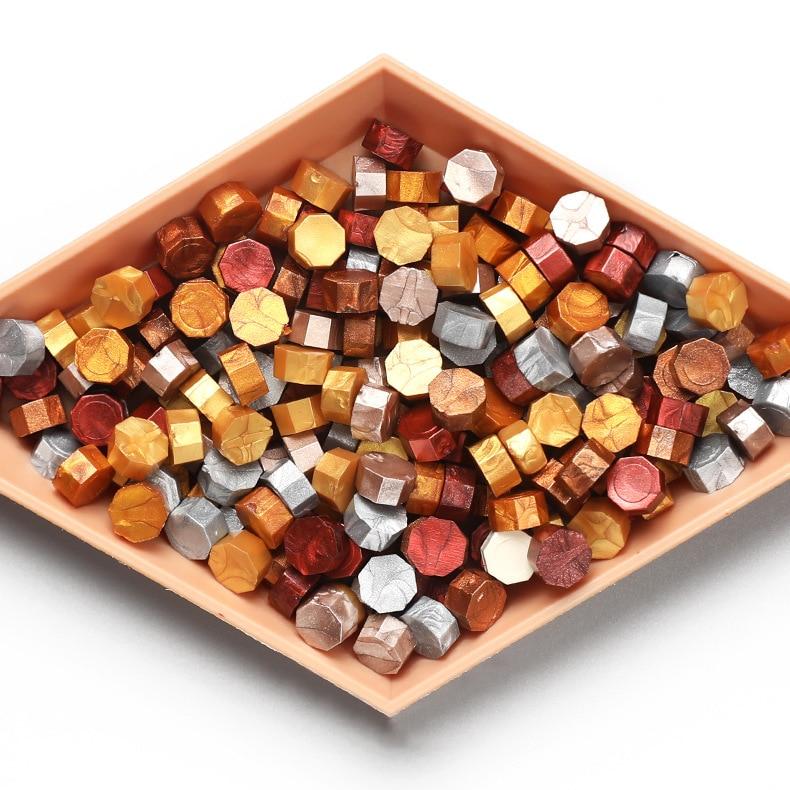 Beads Wax-Seal-Stamp Sealing-Wax Decor-Card Making-Tools Vintage Craft Octagon Wedding