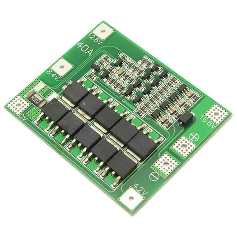 Lithium Baterai Papan 4S 16.8V 40A Li Baterai Charger Modul 3.6V 3.7V Lithium baterai Tegangan Nominal