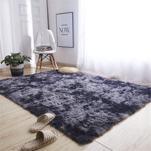 Soft Silk Wool Rug Indoor Modern Shag Area Rug Silky Rugs Bedroom Floor Mat Baby Nursery Rug Children Carpet Vloerkleed 64P(China)