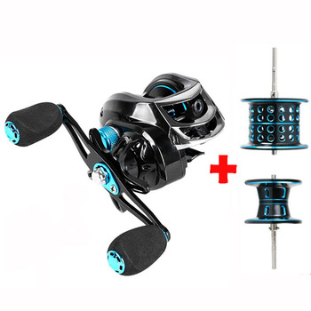 7.2:1 High Speed Fishing Reel All Metal Spool Spinning Reel 8KG Max Drag Dual Brake Baitcasting Reel Fishing wheel 8+1BB tsurinoya flying shark 6 2 1 high speed fishing reel 4000 5000 spinning reel 11 1bb 12kg drag aluminum spool carp fishing tackle