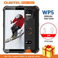 Смартфон OUKITEL WP5, IP68, 8000 мА ч, Android 10,0, тройная камера, 5,5 дюйма, 4 + 32 ГБ