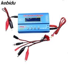 Умное зарядное устройство Kebidu B6 IMAX B6AC RC AC Nimh Nicd, балансирующее устройство для литий-полимерных аккумуляторов с цифровым ЖК-экраном