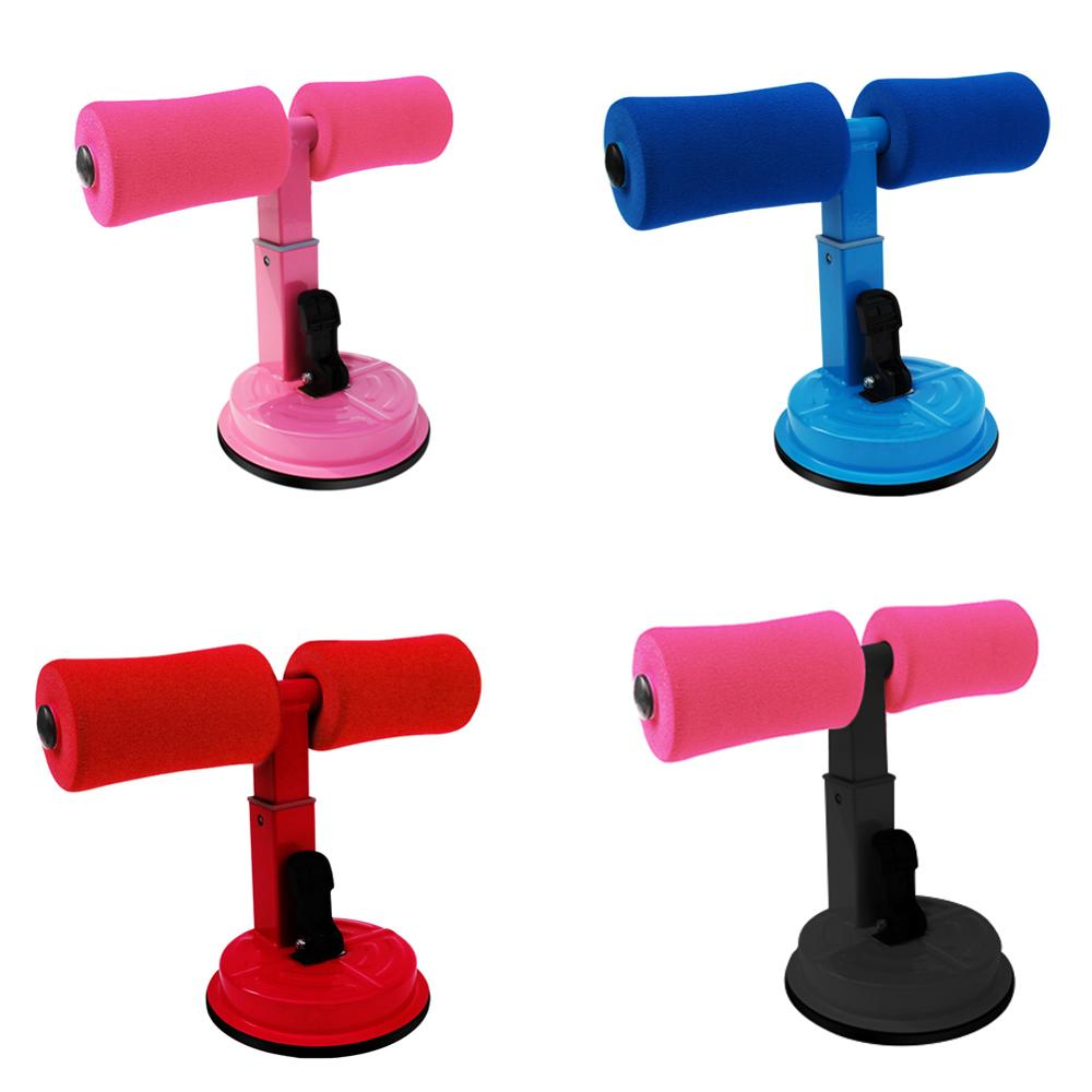 2019 New Adjustable Suction Cup Sit-ups Assist Bar Aid Weight Loss Belly Abdominal Exercise Fitness Home Equipment