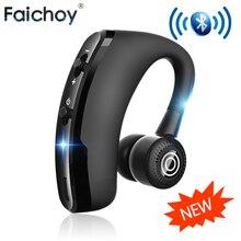 Faichoy V9 наушники гарнитура наушники Bluetooth Беспроводной вкладыши с HD микрофон наушники с микрофоном для телефона в автомобиль