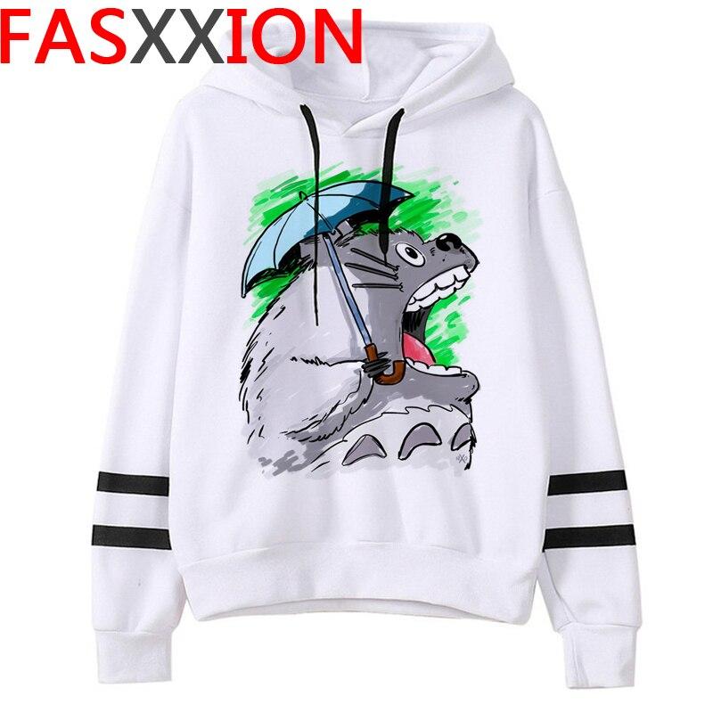 Totoro Studio Ghibli hoodies women streetwear grunge femme hoody sweatshirts hip hop streetwear 9
