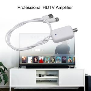 Image 4 - Kebidumei 4K Digital Amplifier Booster Digital TV Antenna 300 Mile Range HD Indoor HDTV 1080P HD TV Antenna Flat Design