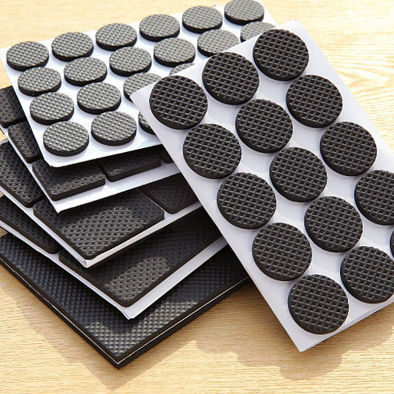 Adhesive Furniture Pads Set Large Pack, Large Felt Furniture Pads