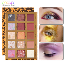 Docolor 15 Color Makeup Eyeshadow Palette Nude Waterproof Glitter Pigment Eye Shadow Pallete Professional Cosmetic Kit