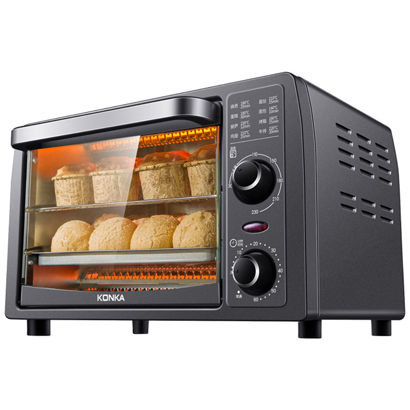 Electric Oven Bread-Baking Mini KONKA Multifunctional Household 13L Intelligent Timing-Baking/Dried