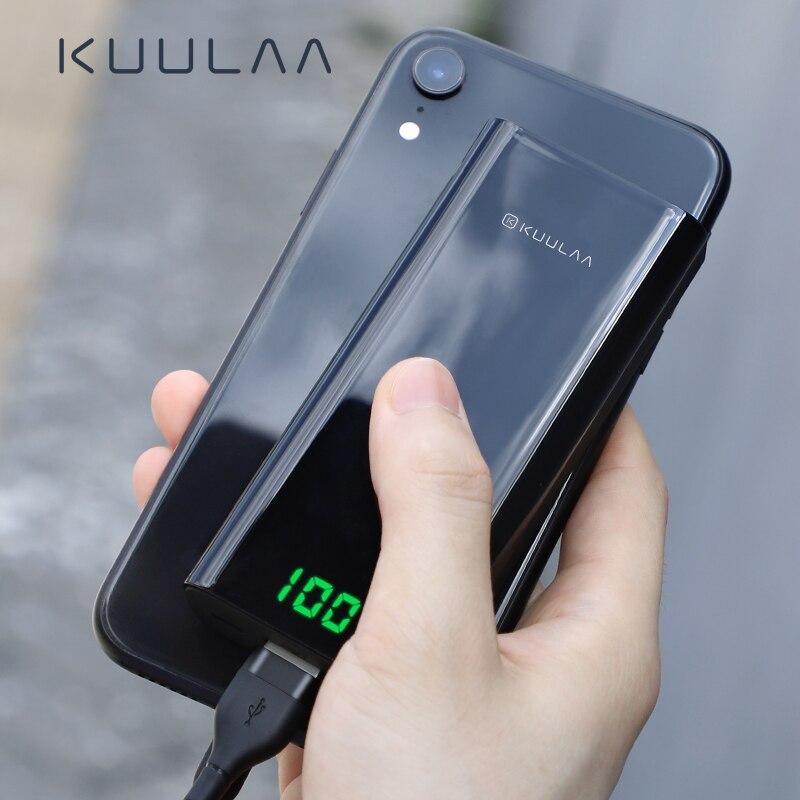 KUULAA power bank 10000mah portable charger for xiaomi redmi 7 mi 9 powerbank external battery poverbank for one plus 7 8 iphone powerbank kuulaa