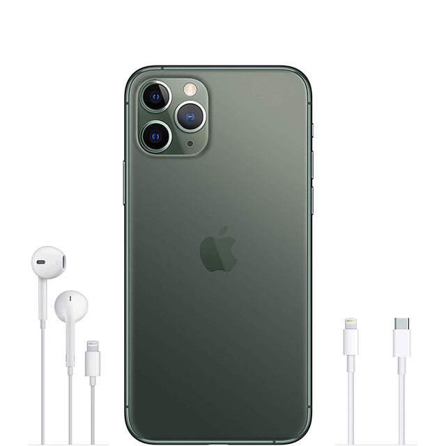 Apple iPhone 11 Pro Max | 18W USB-C Power Adapter Cellular Smartphone 6.5″ Super Retina XDR OLED Display Triple-camera system
