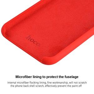 Image 5 - HOCO Real Capa Protetora de Silicone para o iphone 11 Proteção Do Telefone Móvel Caso de Volta de Silicone Macio Capa Para o iphone 11 Pro MAX