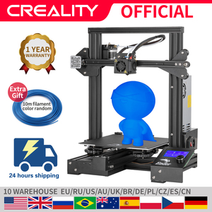 CREALITY 3D Ender-3 Pro Printer Printing Masks Magnetic Build Plate Resume Power Failure Printing DIY KIT Mean Well Power Supply(China)