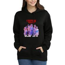 Stranger Things Hoodie Women Sweatshirt Knitted Sportswear Oversized 2019 Fans Merchandise