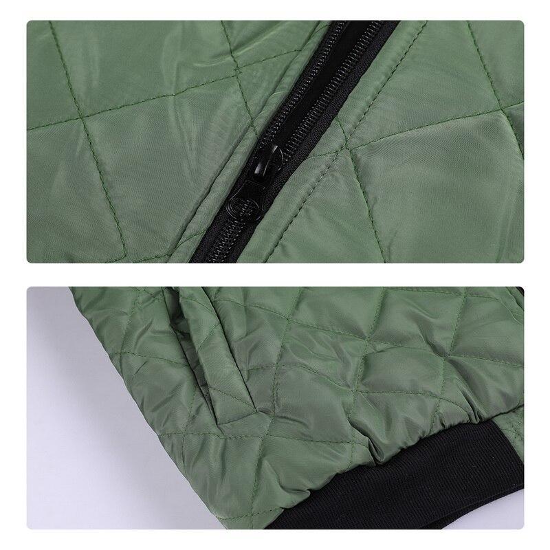 H2306fb8a5d694832a57f669e8c590000k 2019 Autumn Winter Jacket Men Warm Coats Streetwear New Male Lightweight Windproof Packable Jacket hip hop baseball Coat Outwear