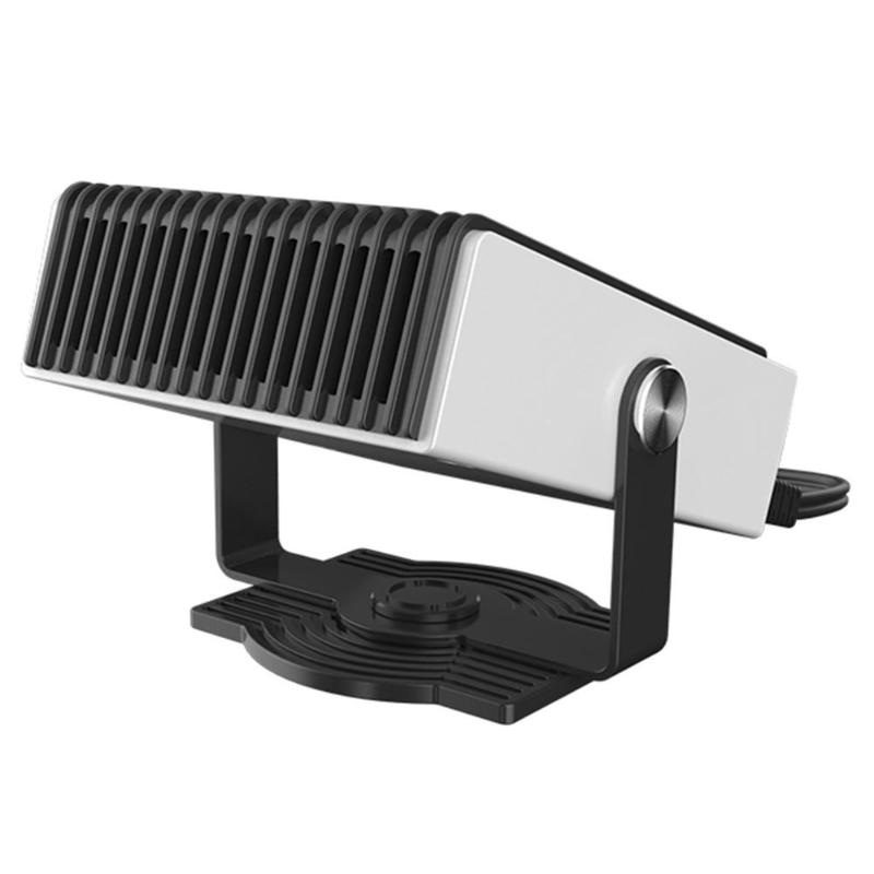 2 In 1 Electric Heaters Mini 12V 150W Car Charging Head Portable Car Heating Cooling Fan Heater Defroster Demister