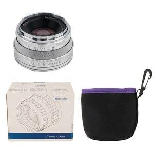 Image 5 - Pergear 25mm F1.8 คู่มือ PRIME เลนส์ทั้งหมดชุดเดียวสำหรับ Fujifilm สำหรับ Sony E Mount & Micro 4/3 กล้อง A7 A7II A7R XT3 XT20