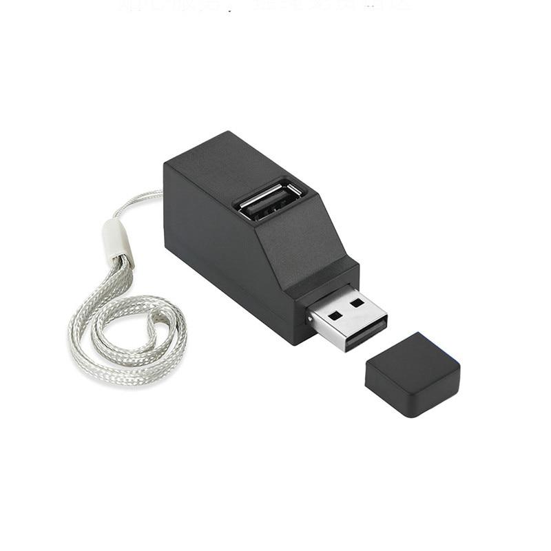 3 Port USB Hub Mini USB 2.0 High Speed Hub Splitter Box For PC Laptop U Disk Card Reader Mobile Phone Hub For iPhone 6 7 8 X