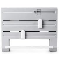 Papier Halter Kunststoff Wrap Cutter Dispenser Konservierungs Film Cutter Werkzeug Mehrzweck Regal Lagerung Box-in Plastikfolie-Spender aus Heim und Garten bei
