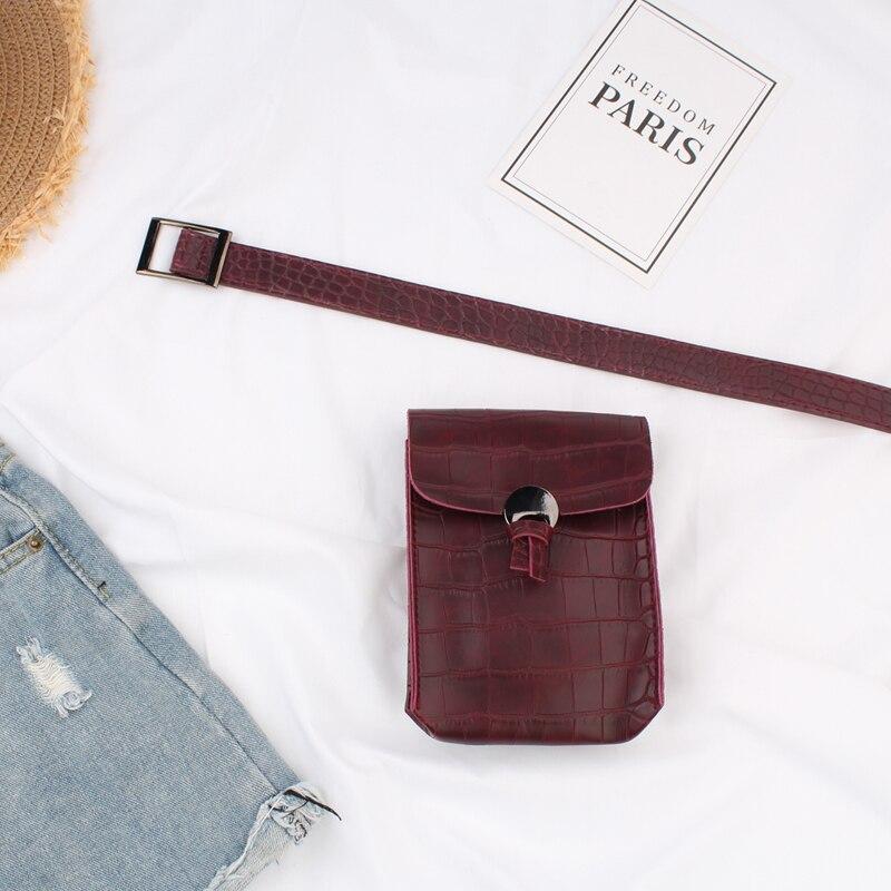 High Fashion 2020 Spring Hot Sale Belt Bag Stylish Tide Waist Bags For Women New Design Solid Female All-match Leather Bag ZL029