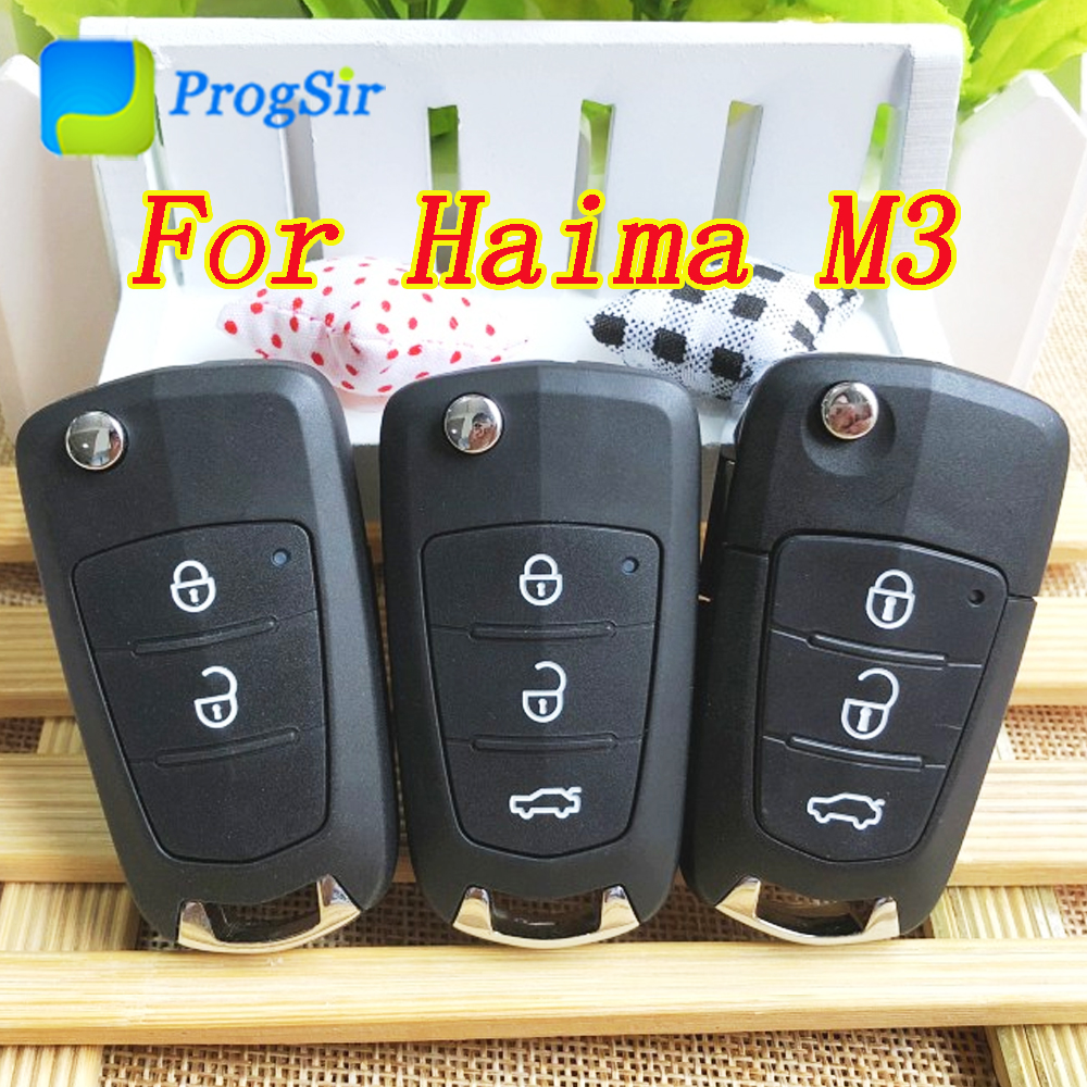 Key Shell Case For Haima M3 With Blade Logo