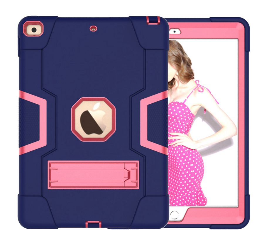 NR Green New Baby Safe Shockproof Armor Case For Apple iPad 10 2 2019 iPad 7 7th Generation