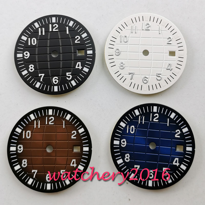31.5mm Watch Sterile Dial Fit 2836 2824 2813 3804 Miyota 82 Series