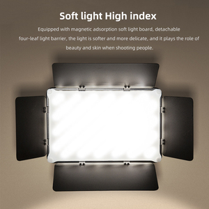 Image 5 - Viltrox VL S192T Đèn LED Video Bi Màu Mờ Từ Xa Không Dây Bảng Điều Khiển Chiếu Sáng + Tặng 1.8 M Giá Đỡ Cho chụp Studio