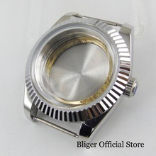цена на Stainless Steel 40mm Watch Case with Mineral Glass Fit ETA 2836 MIYOTA Movement