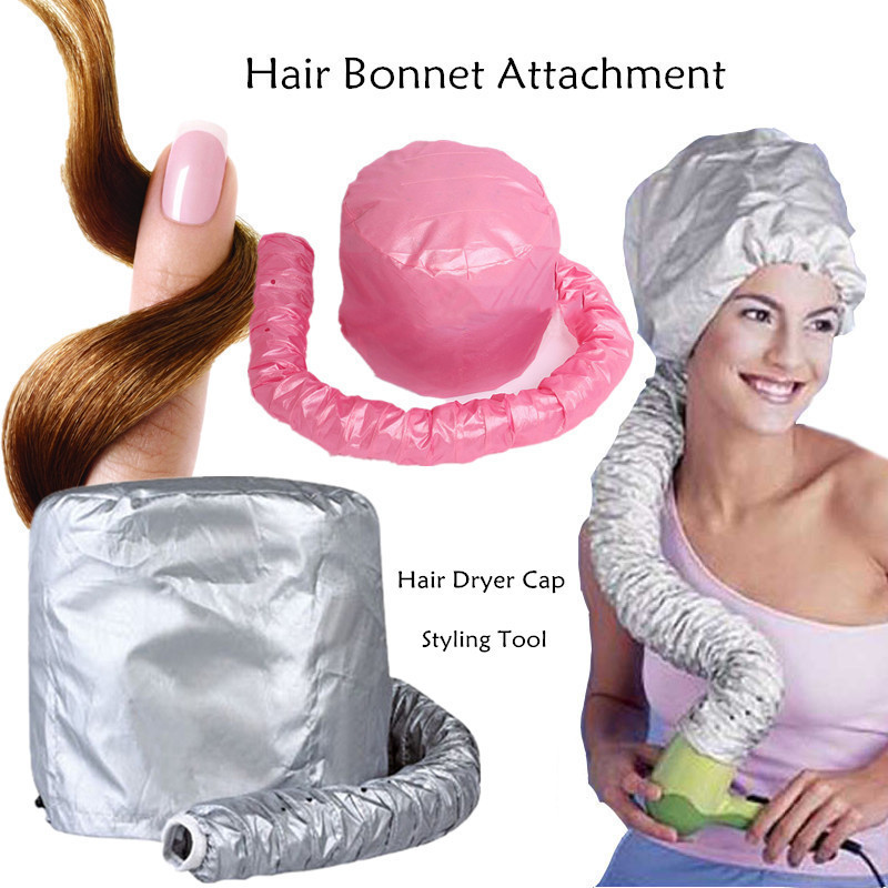 Hair Dryer Hat Easy Use Hair Perm Nursing Dye Hair Modelling Warm Air Drying Treatment Cap Home Safer Than Electric Cap