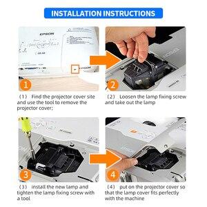 Image 5 - Projektor zastępczy lampa EX9210 EX9220 EX3260 EX5260 EX7260 PowerLite 1266 1286 dla ELPLP96/V13H010L96 z obudową